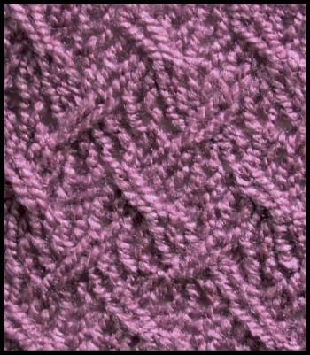 Образец вязания 3