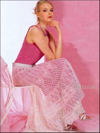 Красивейшая юбка, состоящая из
