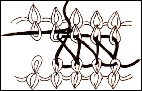 Вязанье покрывало на спицах 640