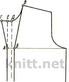 Вязание полочки вместе с планкой видео