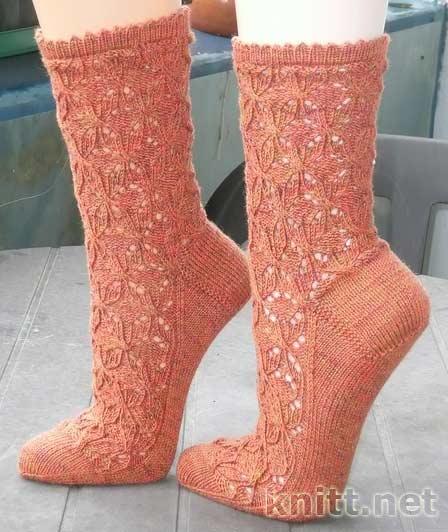 Чудесные ажурные носочки
